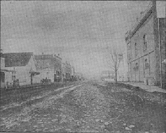Dallas Main Street cira 1890